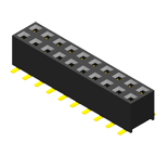 Header & Socket Konnektör Female Header 2.0mm 2 Row H=4.0/4.3/4.6mm SMT Type