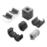 Split EMI Suppression Ferrite Core for Cable Clip Ferrit Nüve Kablo Tipi EMI RU Series  RU Serisi