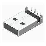 USB Connector Konnektör USB Male Dip 90° A Type