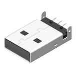 USB Connector Konnektör USB Male SMT 90° A Type